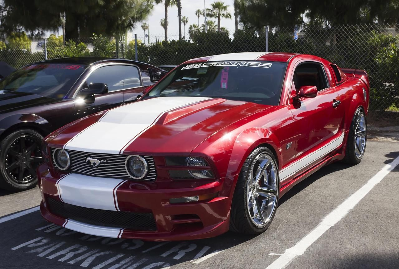 Custom Ford Mustang Gt American Muscle Cars For Women Only