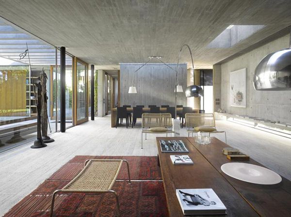 Inside Outside Home Design By South American Architect House