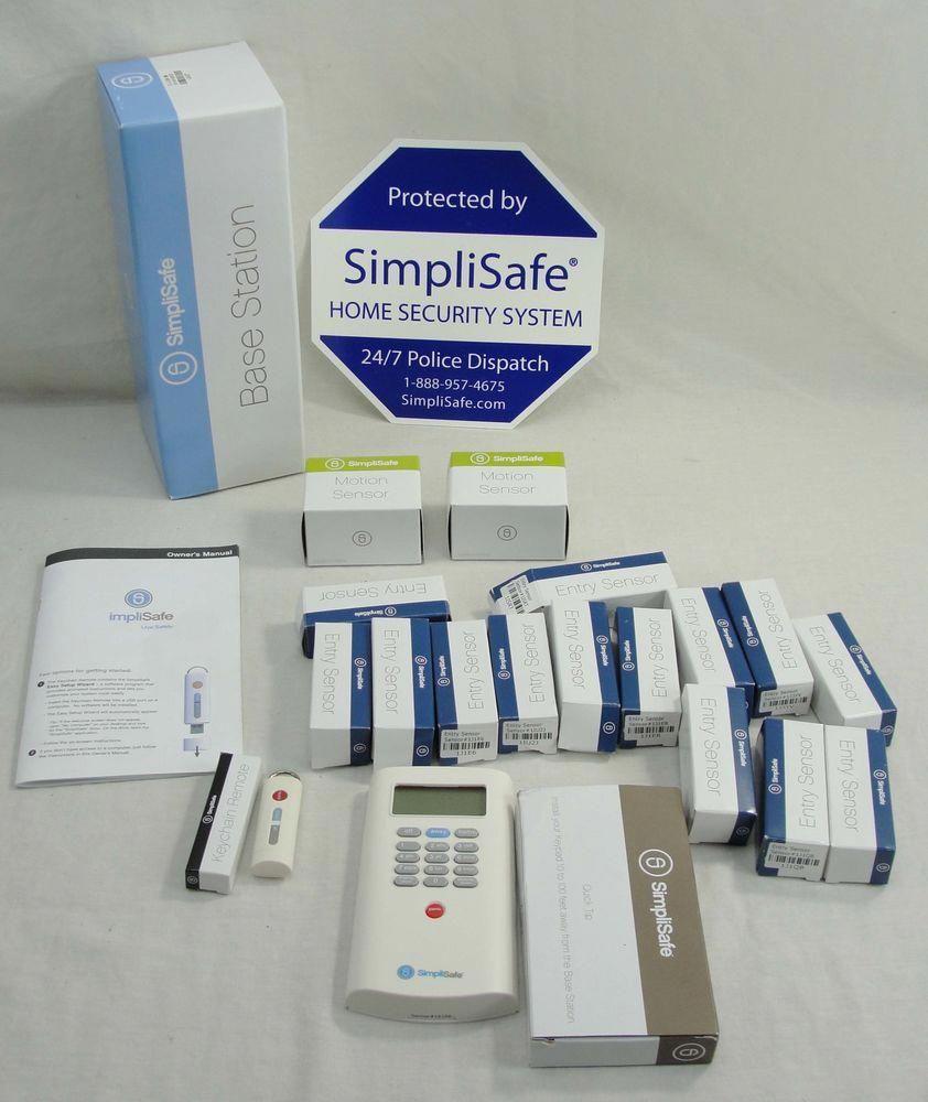 eBay #Sponsored SIMPLISAFE WIRELESS HOME SECURITY ALARM
