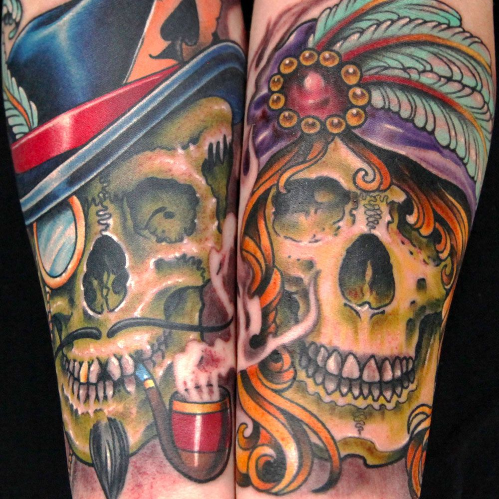 Pin on Interlocking Forearm Tattoos