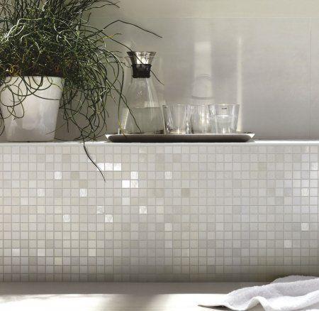 Hvid mosaik