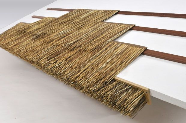 Buy Wholesale Artificial Synthetic Palm Thatch Reed Thatch Panels Thatched Roof Bamboo Roof Bamboo House