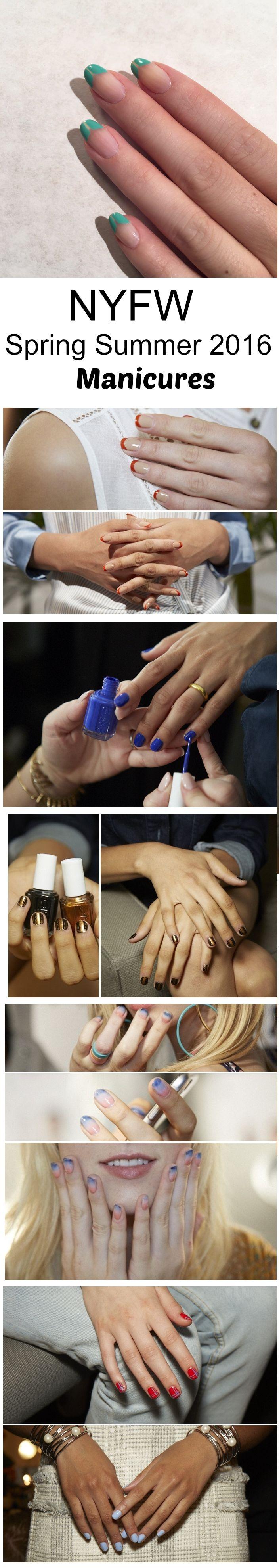 foto de NYFW Spring summer 2016 Manicures Magnificent Manicures