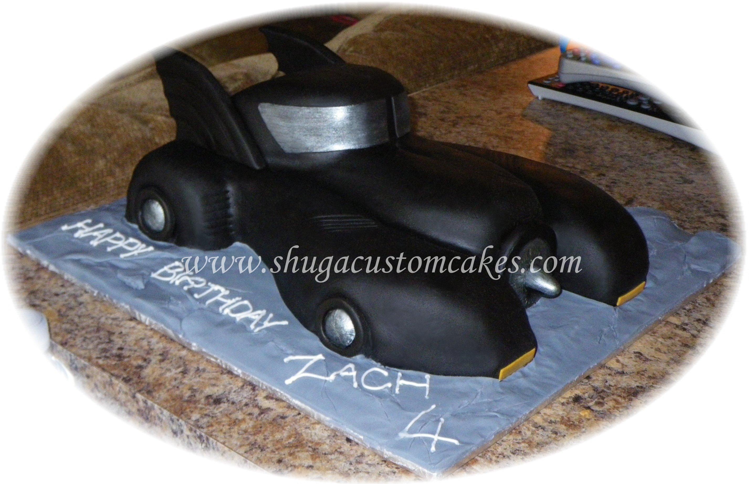 Batmobile cake | Shuga Custom Cakes | Pinterest