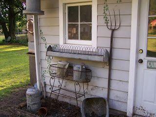 Backdoor Primitives: Summer Back Porch
