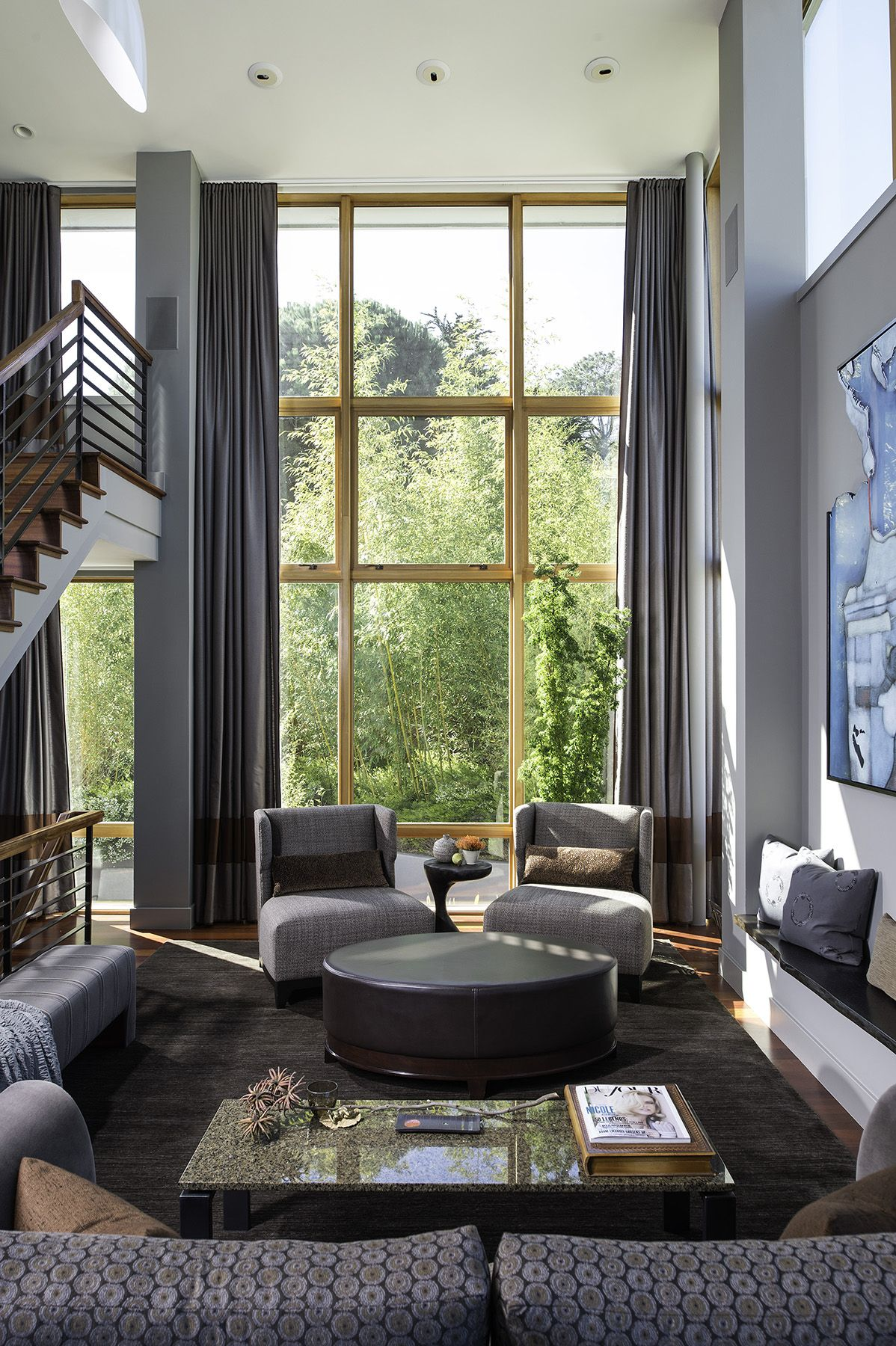 Living Room Susan Fredman Design Group