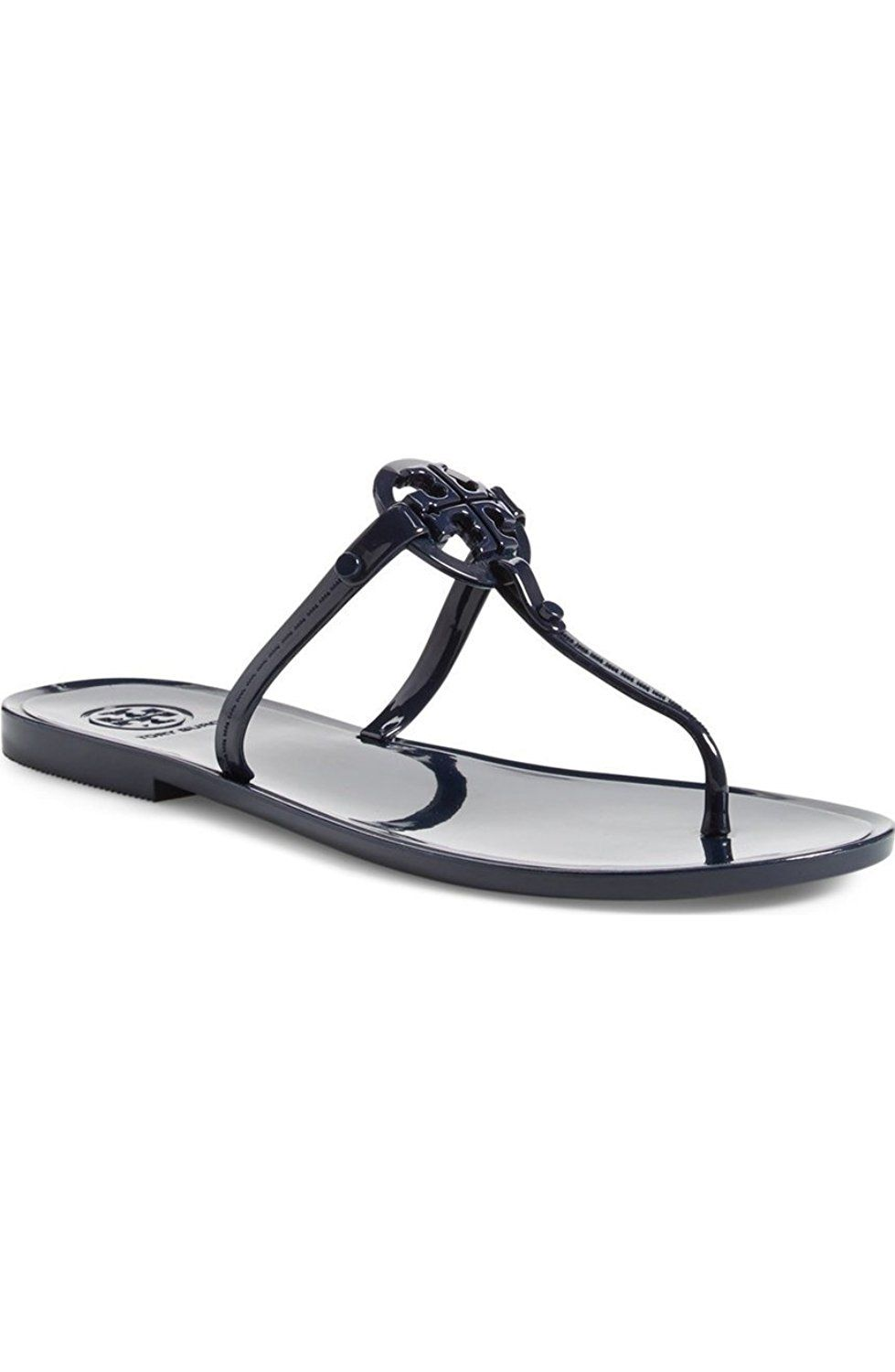 475e4acc66fe8 Tory Burch Jelly Thong Sandal Tory Navy     To view further for this item