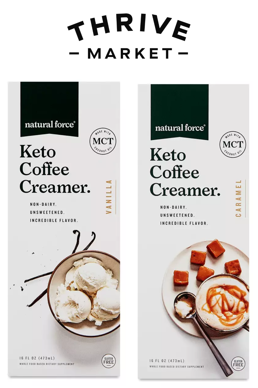 Natural Force Keto Coffee Creamer in 2020 Coffee creamer