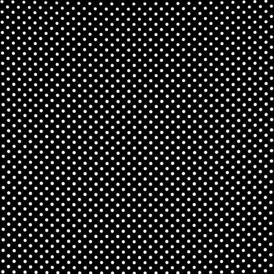 black white mini polka dot matte satin black and white