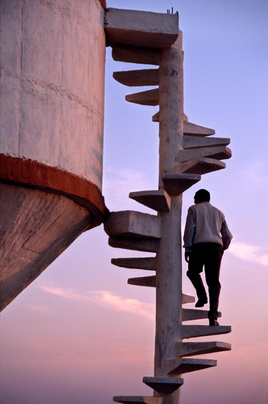 Upstairs, Downstairs | Steve McCurry