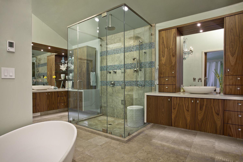 Contemporary Master Bath Eclectic Bathroom Contemporary Bathroom Designs Modern Bathroom Design