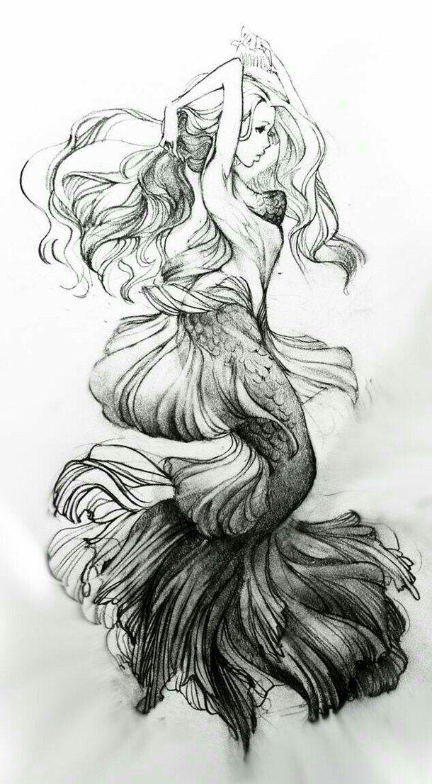 Pin von Lady Lombardo auf Sirenas | Pinterest | Malerei-Tutorials ...