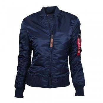 ALPHA Industries MA-1 VF 59 Women Jacke Ocean Blue (blau)