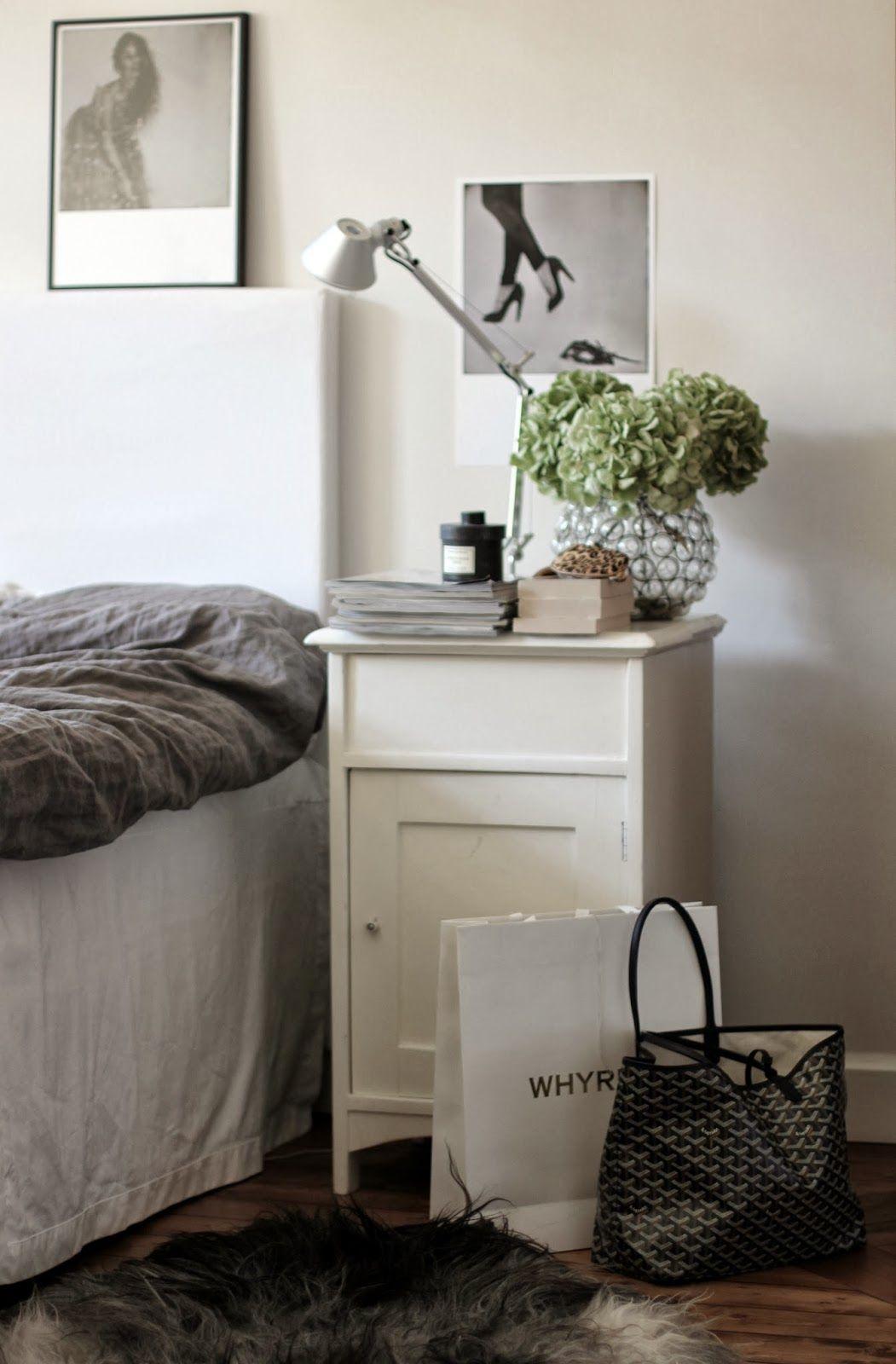 Fint och annorlunda sängbord?