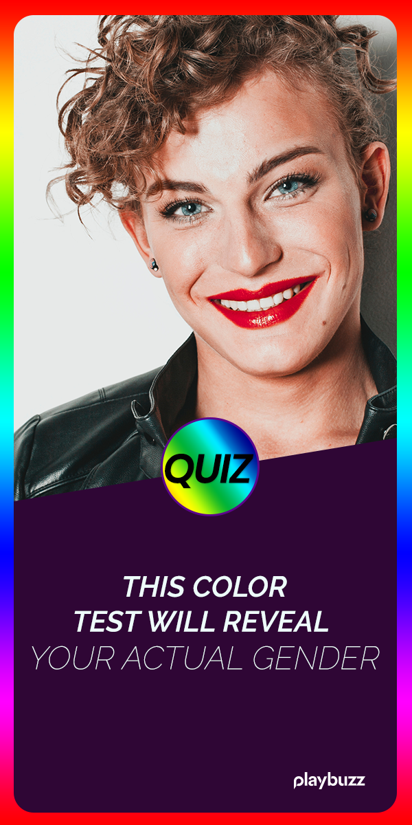 This Color Test Will Reveal Your Actual Gender   Quizzes