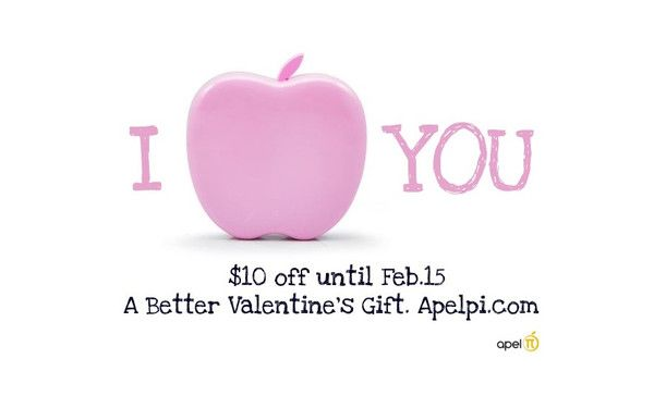 Chocolates? Flowers? Again?!  Get her something different and unique. Something she will always use. Opso from Apelpi is a universal smartphone and tablet back-up charger. Buy today and save $10 off all of their award-winning Opso's. Offer ends Feb.15. Get yours before Valentines Day at http://www.apelpi.com
