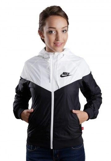 5e1636d896c5 Nike - The Windrunner Black White Black - Girl Jacket - Streetwear Shop -  Impericon.com Worldwide