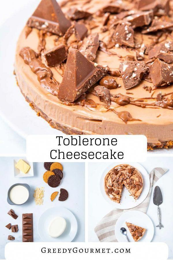 Try this easy no bake toblerone cheesecake recipe. It's one of a kind. If you love toblerone chocolate, then this cheesecake is definitely for you to try! #cheesecake #toberlone #Desserts #DessertRecipes #Chocolate #cheesecakedessertseasy