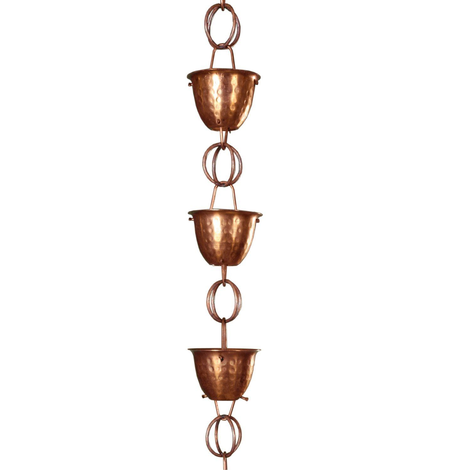 Robot Check Copper Rain Chains Rain Chain Copper Cups