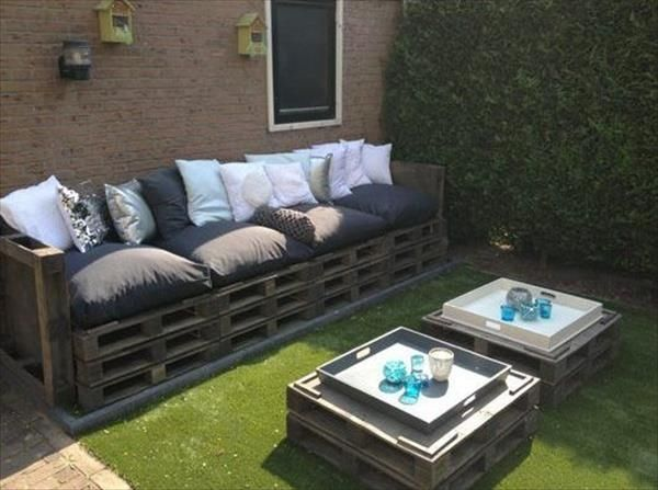 garden furniture made with pallets pallets ideas designs diy