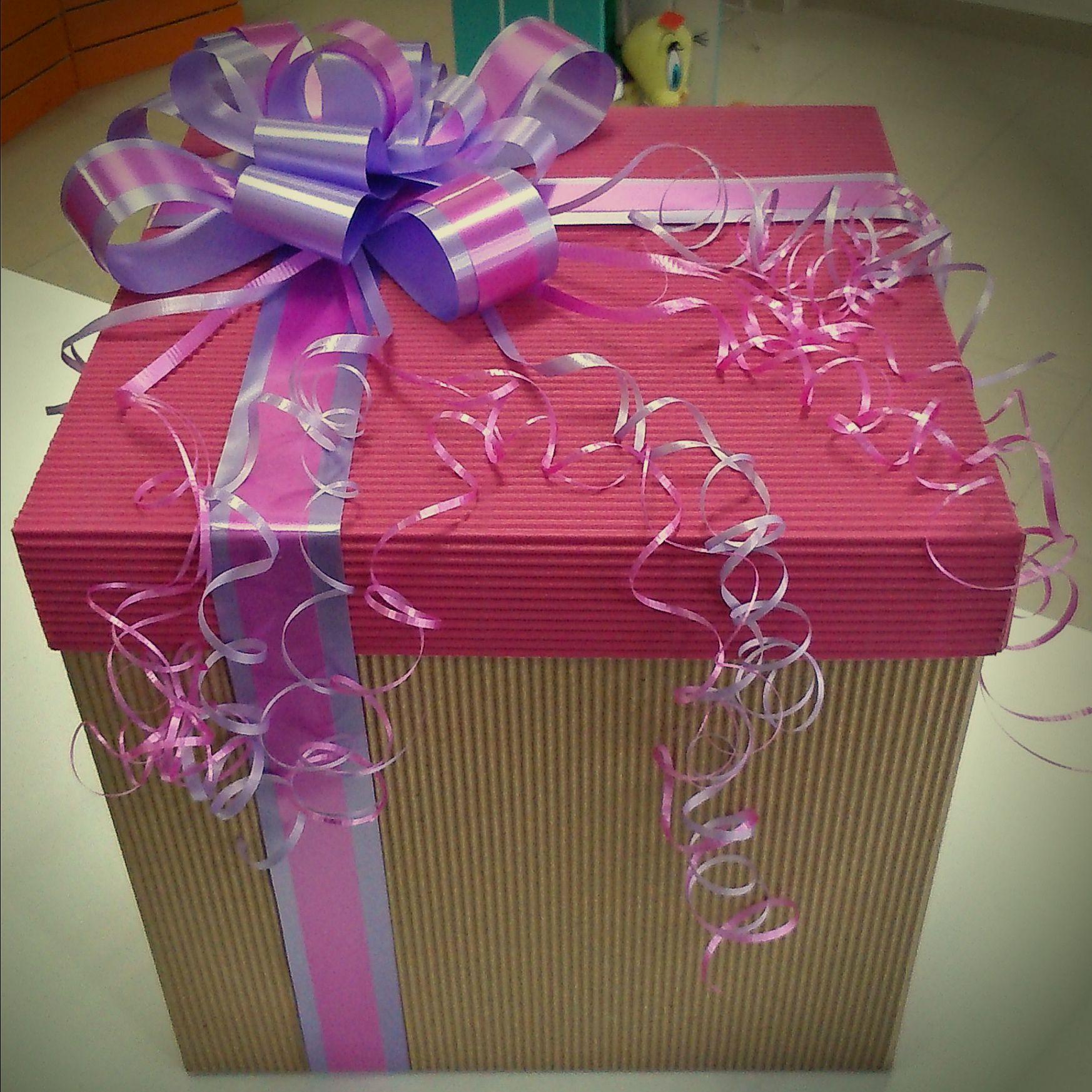 Caja Rosa Para Regalo Arreglada Para Dama Hacer Cajas De Regalo Cajas De Regalo Decoradas Cajas De Regalo