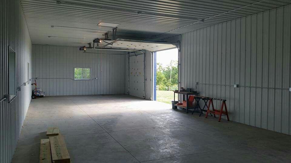 24x64x12 Hobby Shop  Garage, Saint Charles, Ia~ W-3 Construction