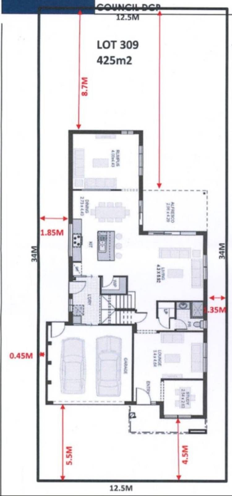 Zero Lot House Plans 2020 House Plans House How To Plan