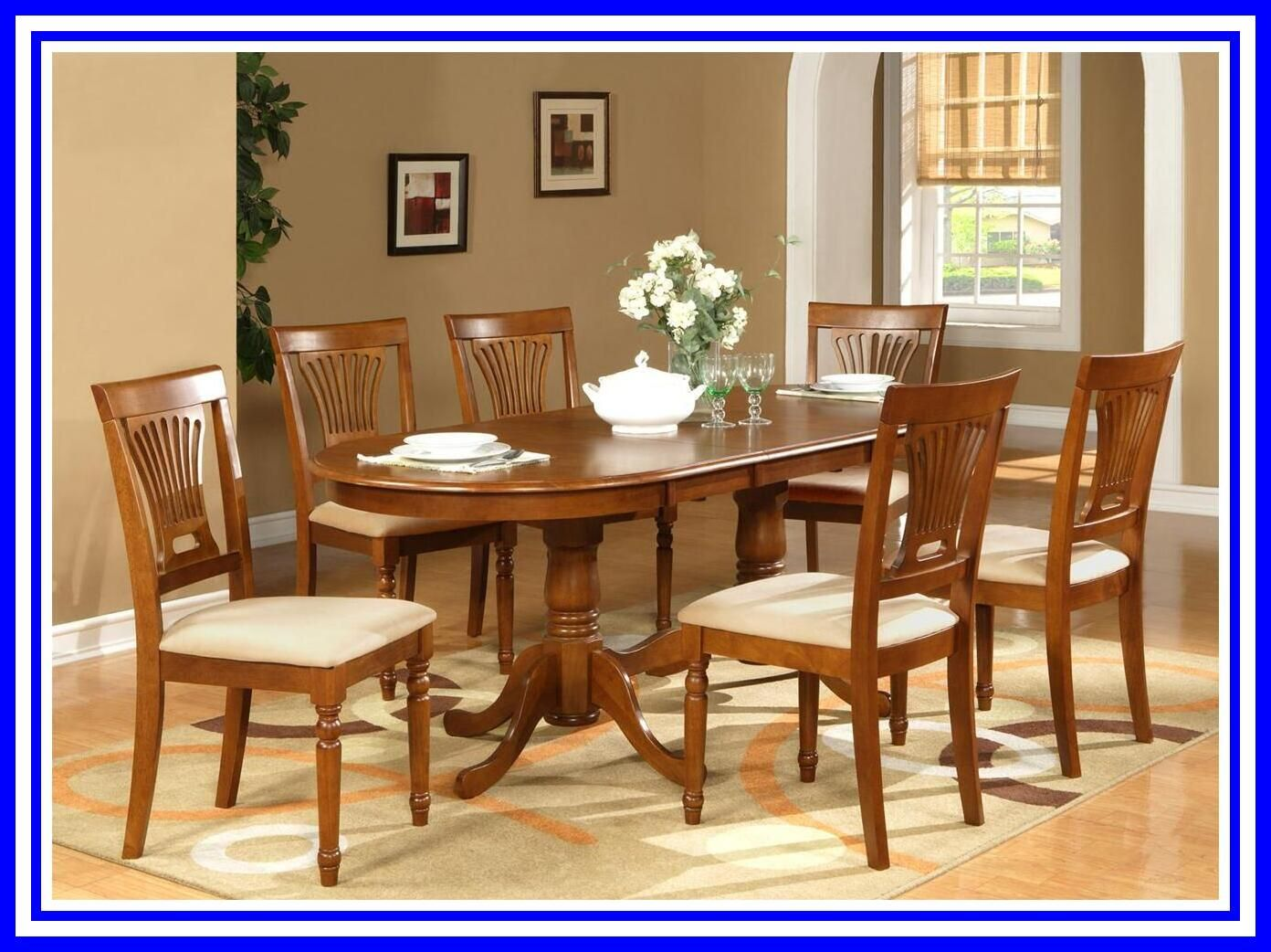 76 Reference Of Wooden Oval Dining Table And Chairs In 2020 Cheap Dining Room Chairs Dining Table Oval Table Dining