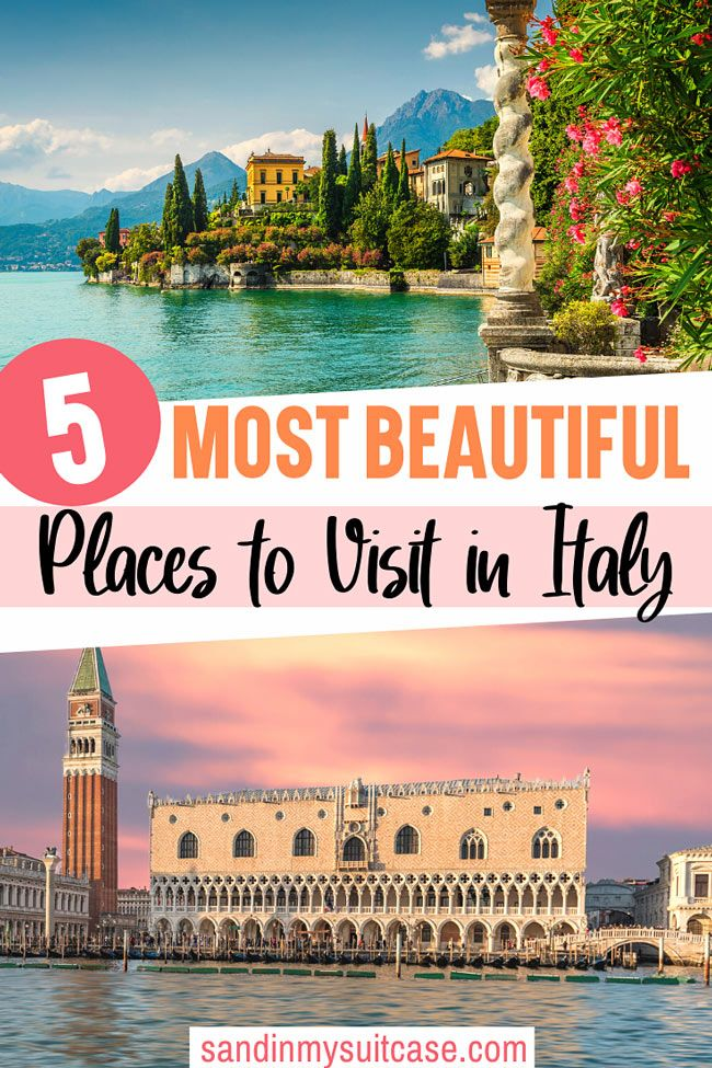 5 of the Most Beautiful Places in Italy to Explore