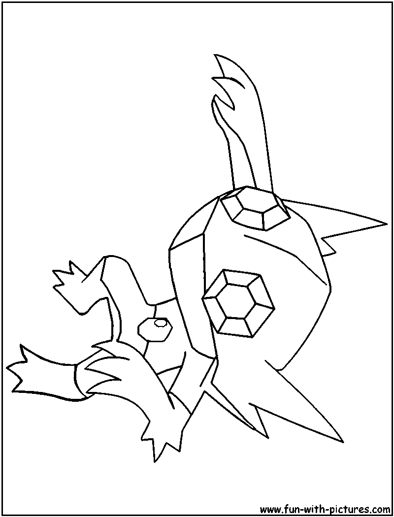 Sableye Coloring Page Coloring Pages Pikachu Coloring Page Pokemon Coloring Pages