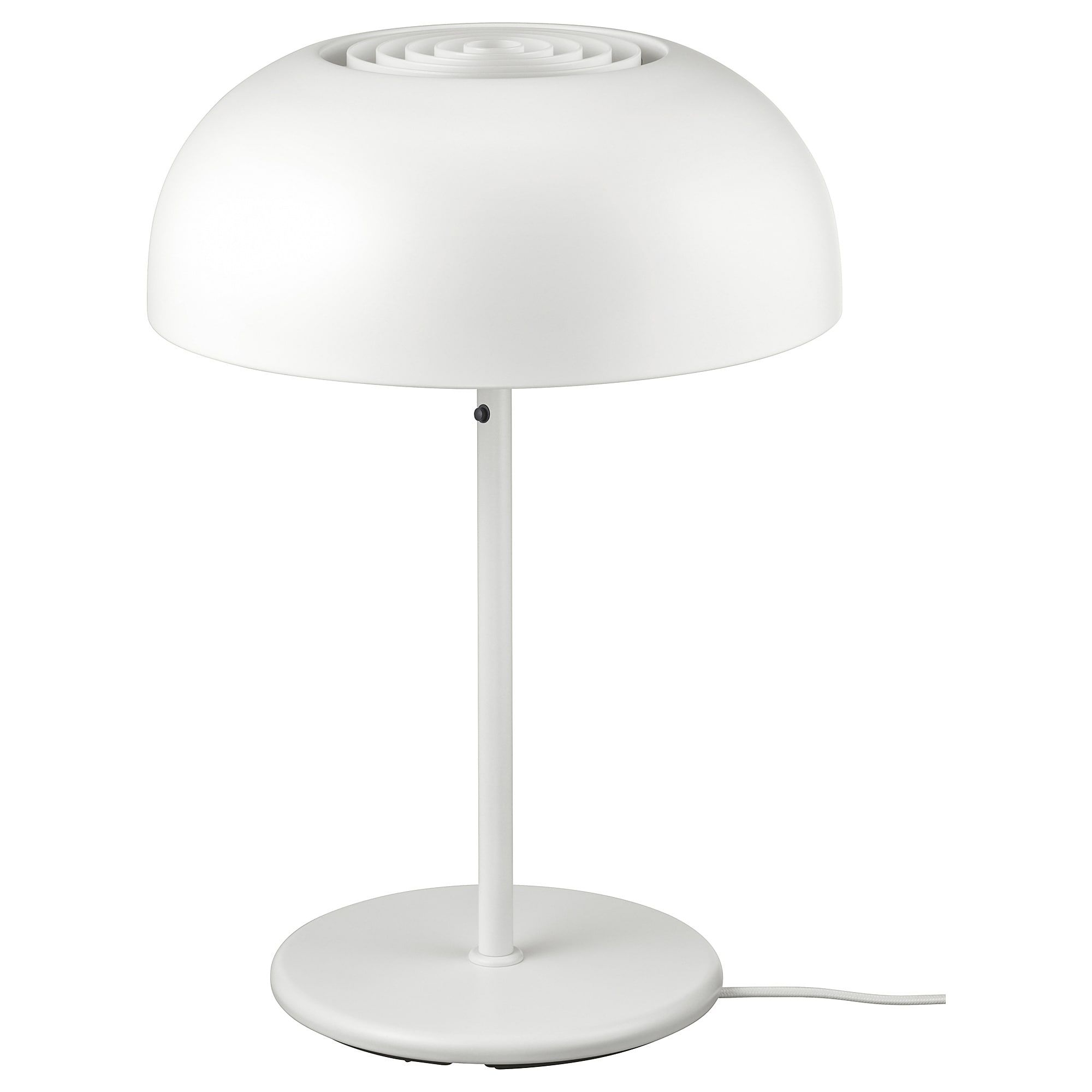 Nymane Table Lamp With Led Bulb White Table Lamp White Table Lamp Lamp