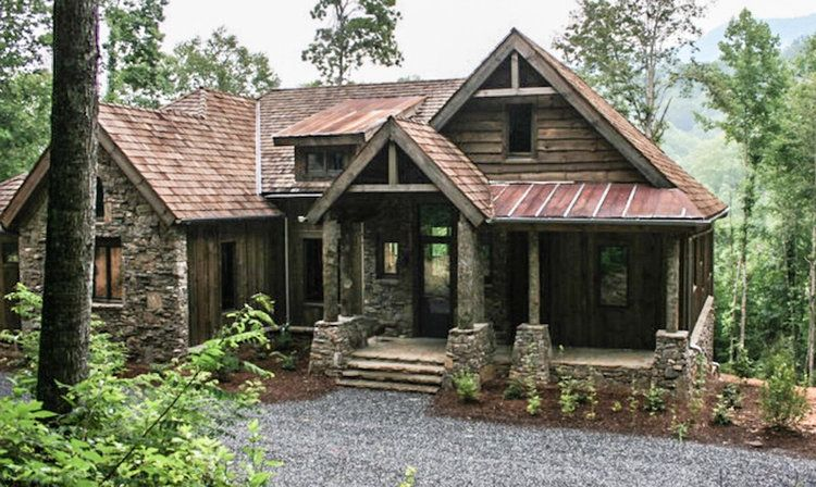 Balsam Mountain Lodge | Plan No. 14002 | © Amicalola Home Plans #mountainhomes