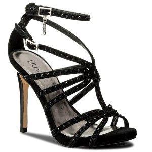 Tc Sandalo Black 110 22222Buty Liu Sandały Jo P0021 S18039 n0wOkP