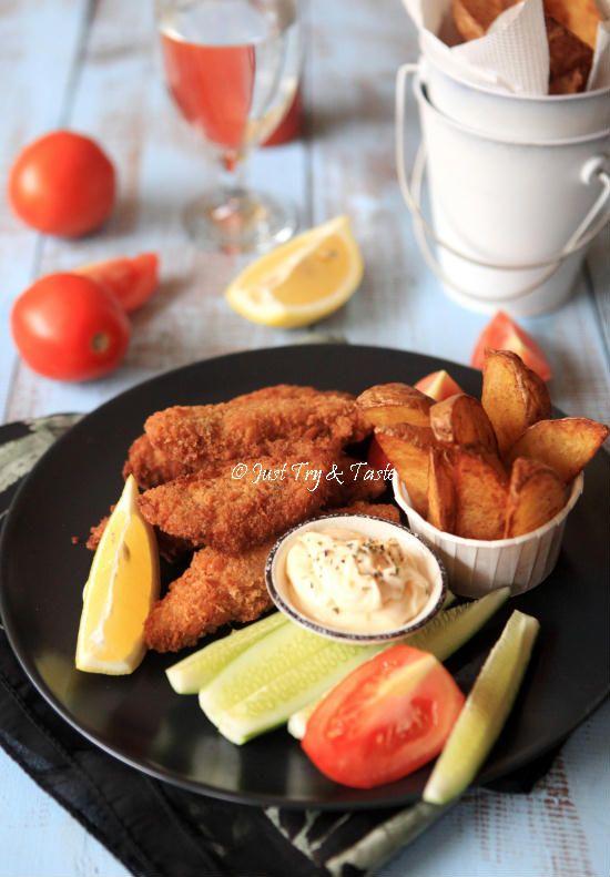 Resep Super Crispy Fish And Chips A La Jtt Makan Malam Resep Masakan Memasak