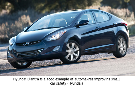 Small Car Safety Elantra Hyundai Elantra Hyundai