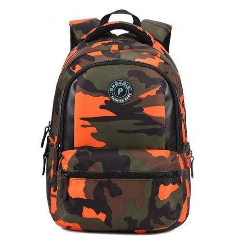 4a2dc6abc6 Primary students backpack school bags camo kids school satchel teen boys  girls school backpack book bag shoulder bag X026