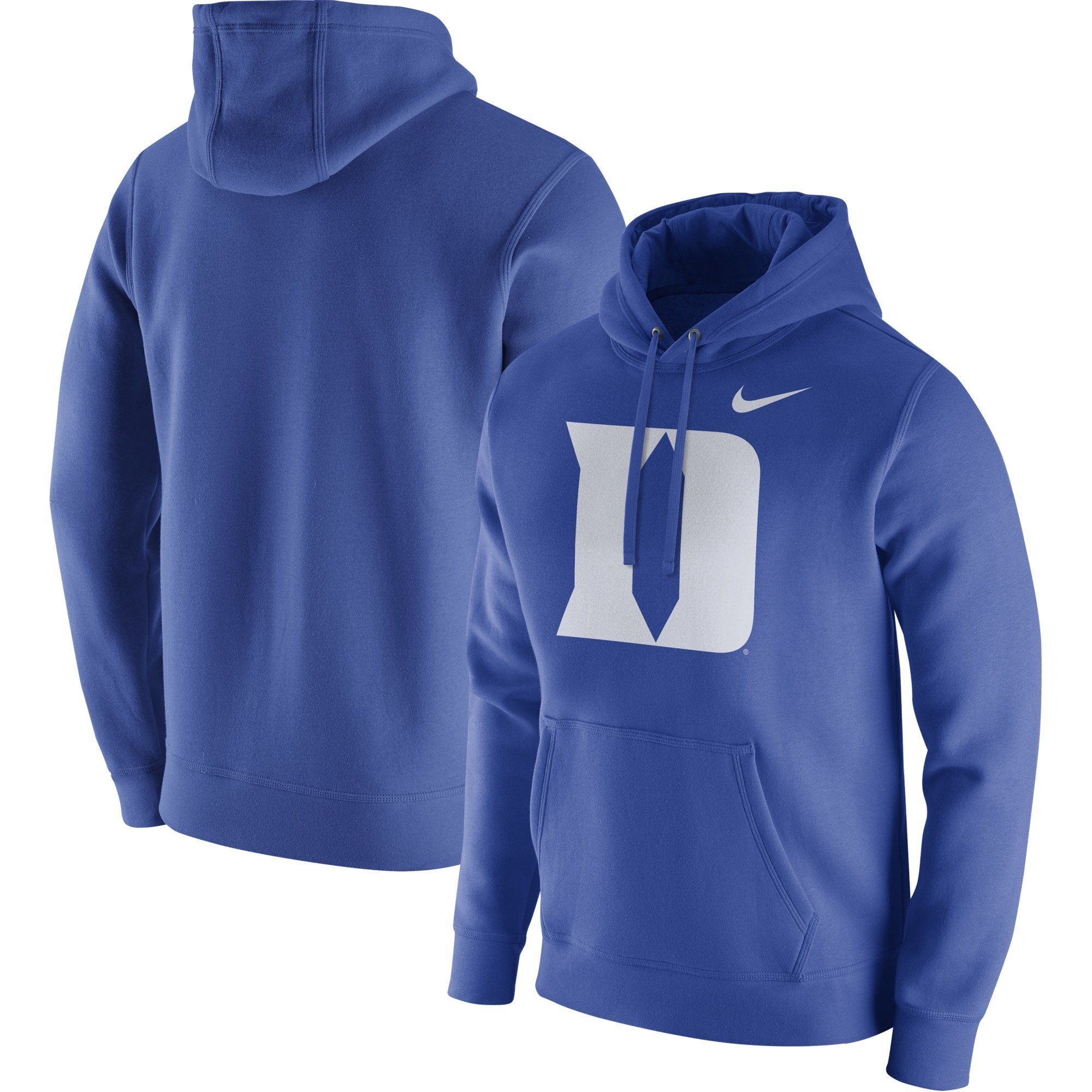 0960ba3bd Duke Blue Devils Nike Club Fleece Pullover Hoodie – Royal