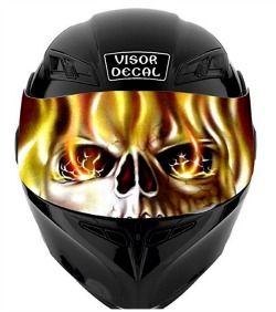Motorcycle Helmet Visor Decals Cool Bike Helmets Motorcycle Helmet Visor Helmet Visor