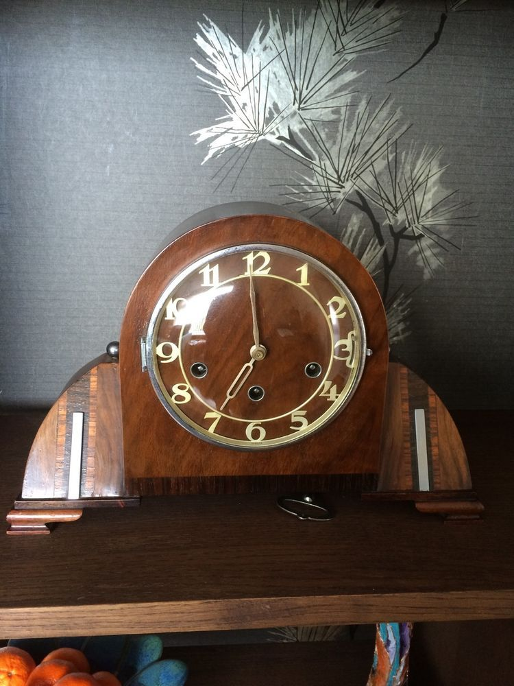 Clock westminster chiming art deco clock art deco clock