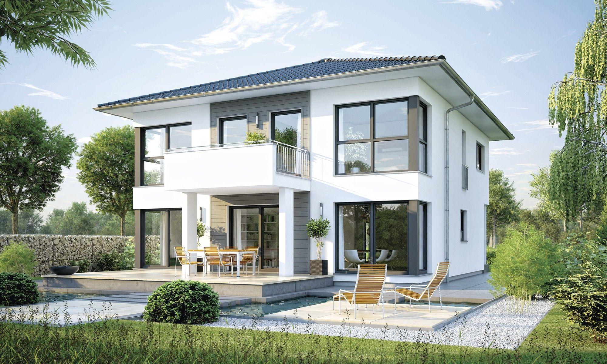 Hausbeispiele einfamilienhaus  Hausdetailansicht | haus | Pinterest | Grundrisse, Haus bauen und ...