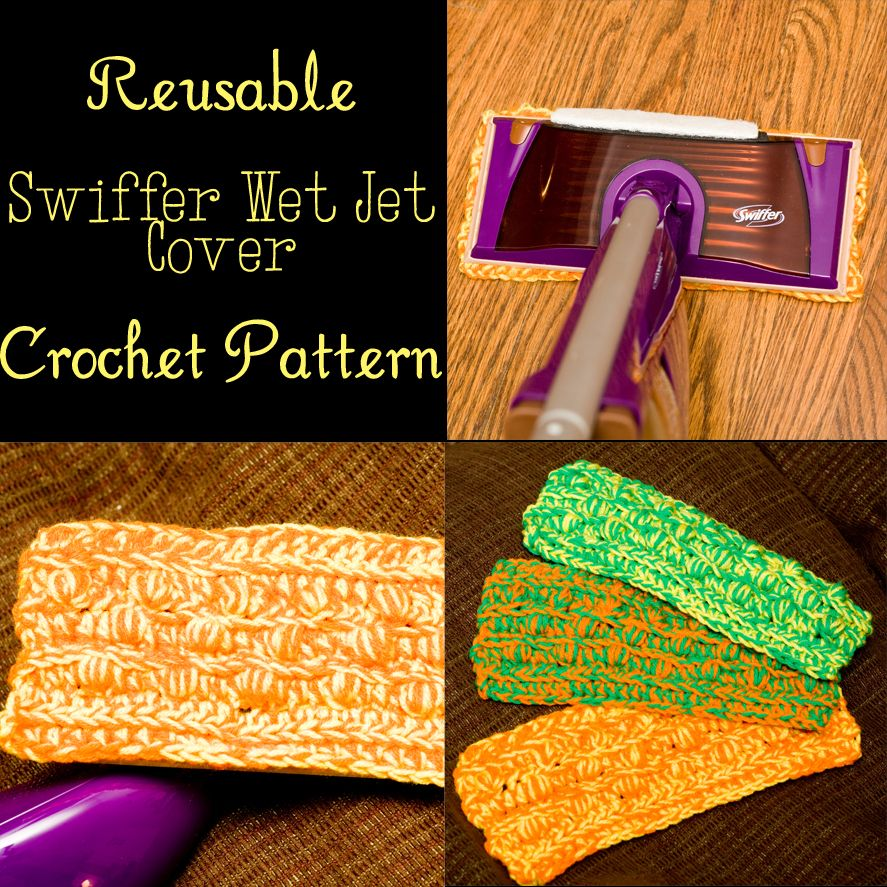 Reusable Swiffer Pad Free Crochet Pattern Crochet Pinterest