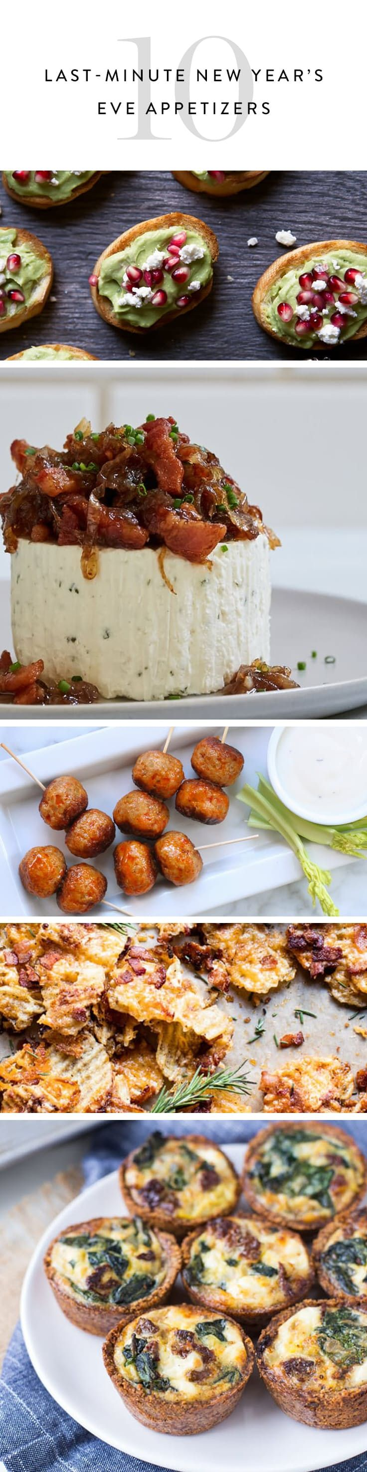 16 Brilliant Last-Minute New Year's Eve Appetizers