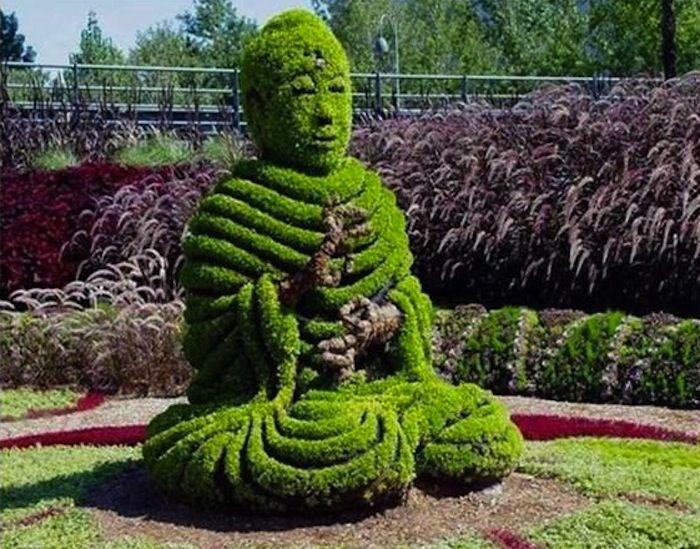 Montreal Topiary Garden.