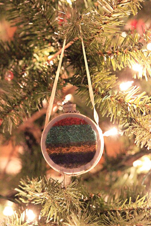 hiking christmas ornaments