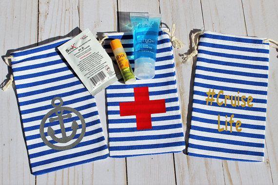 372de54ce708 Fish Extender Gift, FE Gift, Nautical Favor Bags, Survival Kit Bag ...