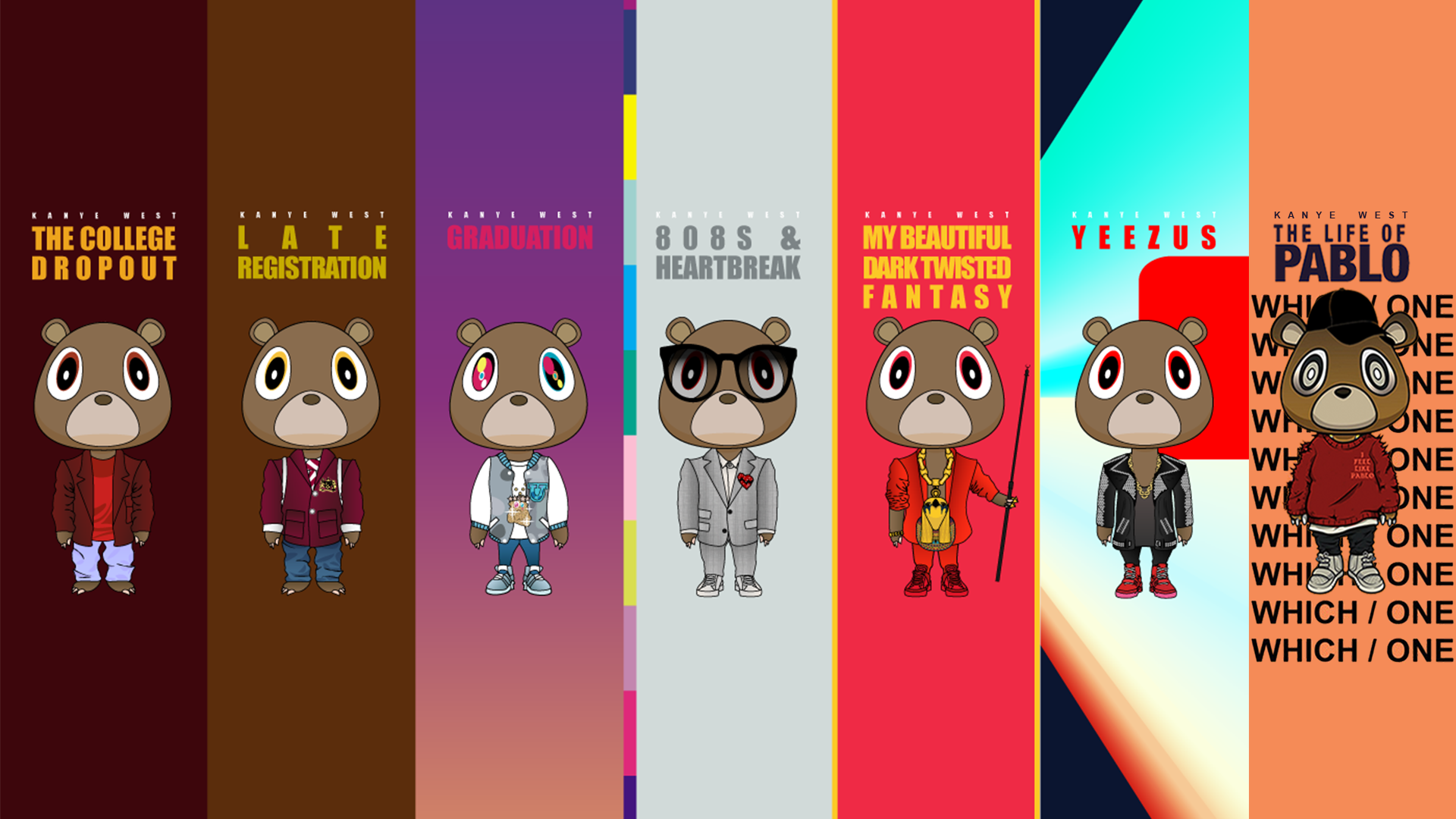 Pin by Miguel Villela on FML Custom posters, Kanye west