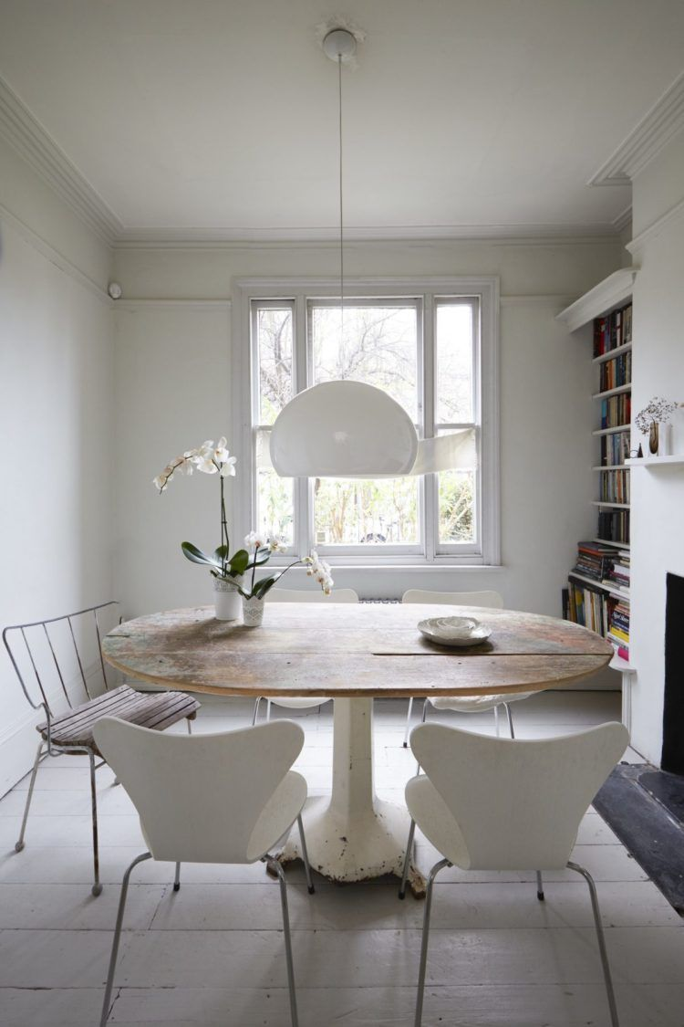 10 Beautiful Rooms Rustic Round Dining Table Dining Table