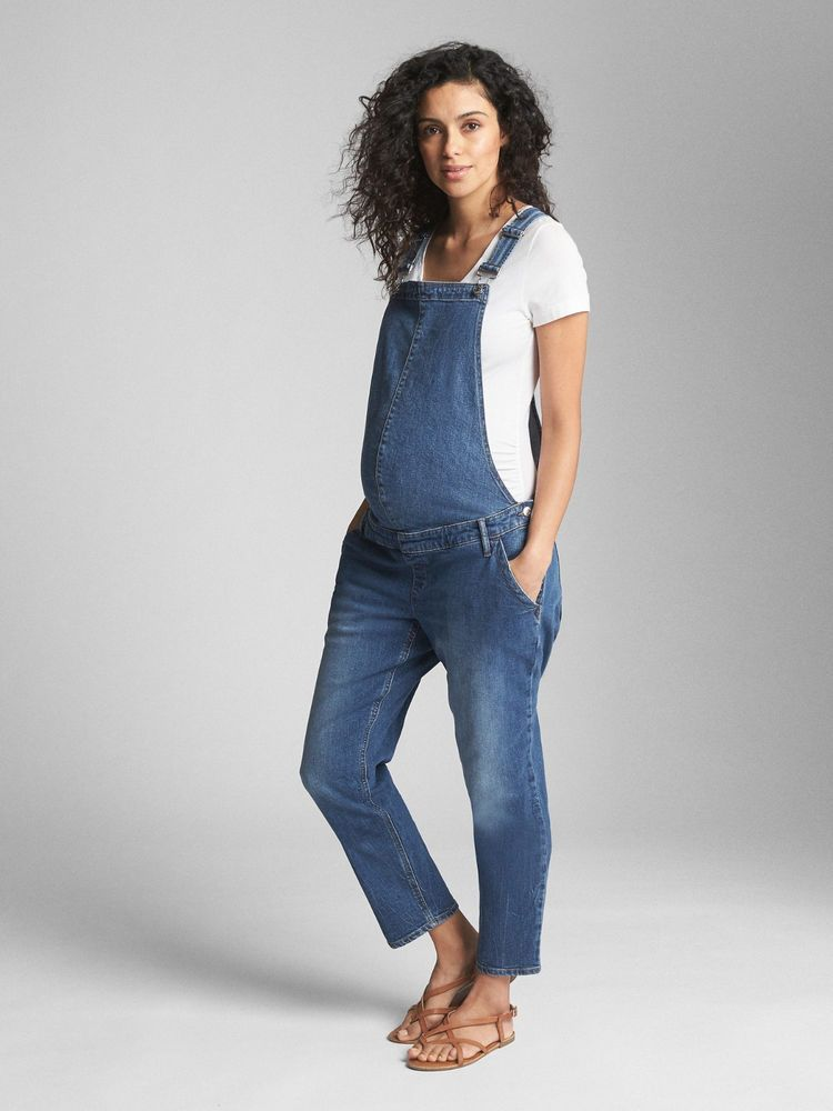b81eaf0d435 NWT Gap Maternity Denim Overalls - Medium Indigo - Large L  fashion   clothing  shoes  accessories  womensclothing  maternity (ebay link)