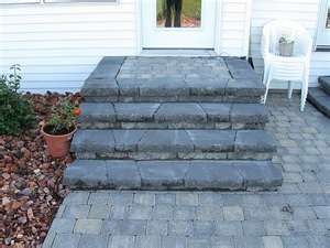 Best Back Door Steps To Patio Idea With Images Patio Steps 400 x 300