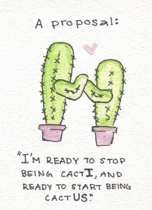 But this is not as great as it seems because cacti is the plural ...